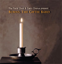 Burns The Giftie Bard CD cover